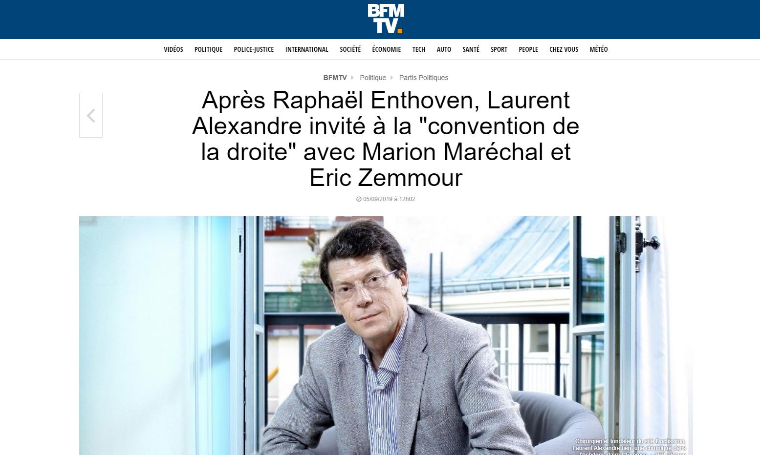2019-09-05 21_48_57-Après Raphaël Enthoven, Laurent Alexandre invité à la « convention de la droite
