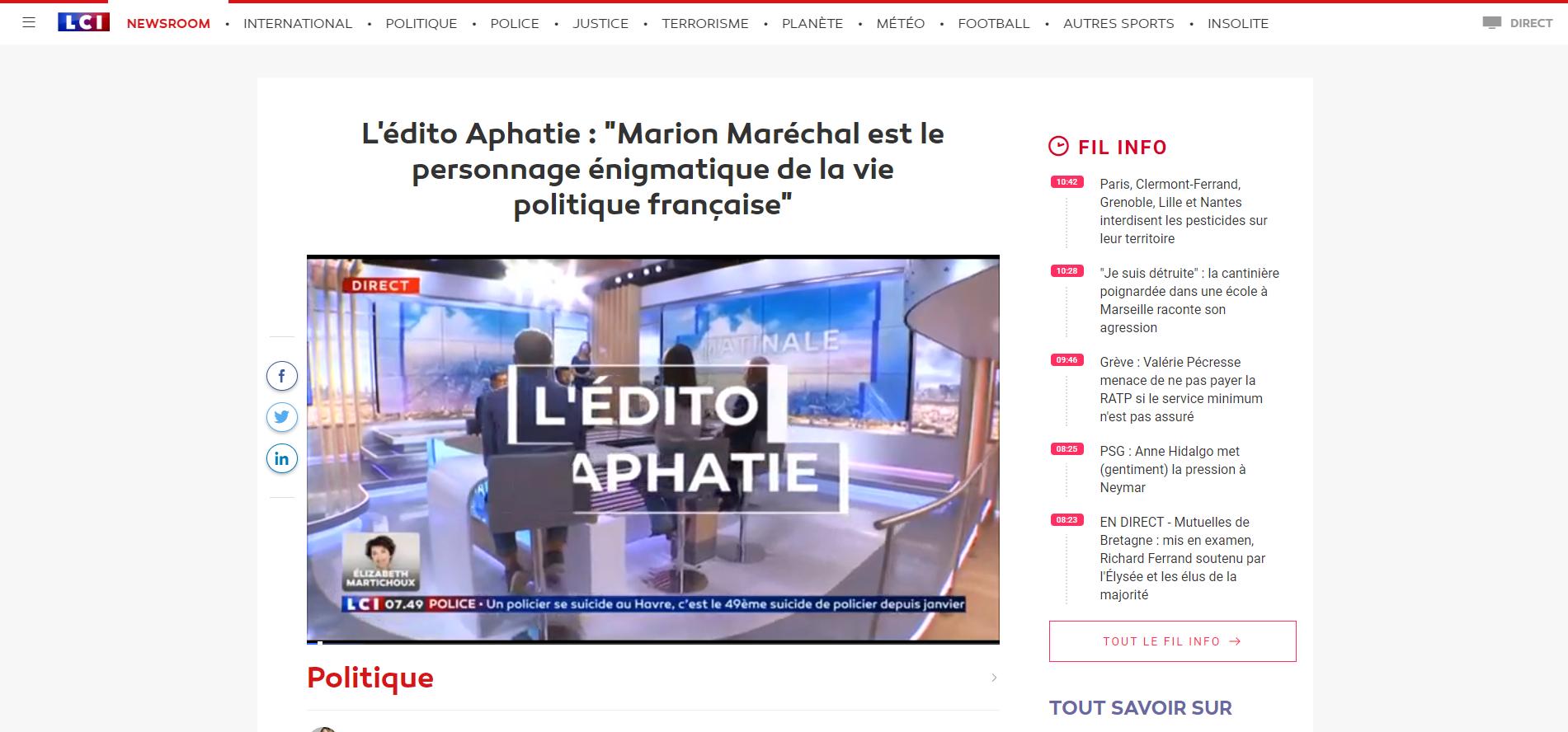 2019-09-12 11_04_54-L'édito Aphatie _ _Marion Maréchal est le personnage énigmatique de la vie polit